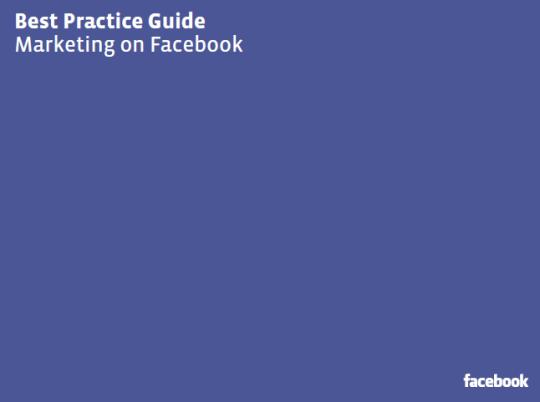 Guía de Mercadeo de Facebook